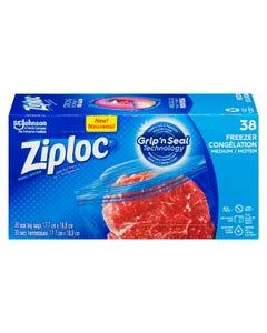 Ziploc Freezer Bags Medium 38CT