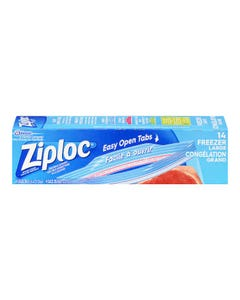 Ziploc Large Freezer Bags 14ct