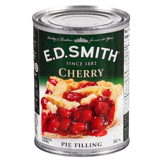 ED Smith Pie Filling Cherry 540ml