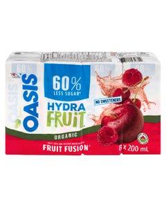 Oasis HydraFruit Fruit Fusion Fruit Juice 8X200ML