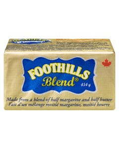 Foothills Half Margarine & Half Butter Blend 454g