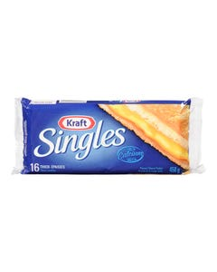 Kraft Singles Cheese Regular 16 Slices 450G
