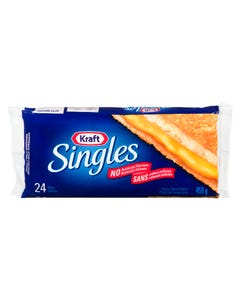 Kraft Singles Cheese Regular 24 Slices 450G