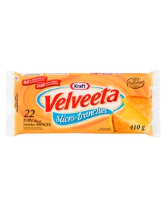 Kraft Velveeta Cheese Slices 22CT 410G