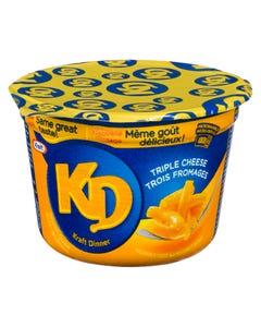 Kraft Dinner Snack Cup Triple Cheese 58G