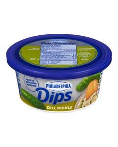Philadelphia Dips Dill Pickle 227G