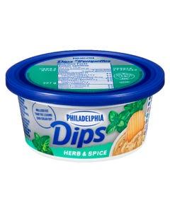 Philadelphia Cream Cheese Dips Herb & Spice 227g