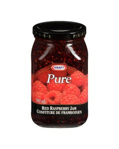 Kraft Pure Red Raspberry Jam 500ml