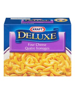 Kraft Dinner Deluxe Four Cheese 400g