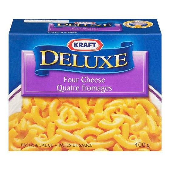 Kraft Deluxe Pâtes et Sauce 4 Fromages 400G