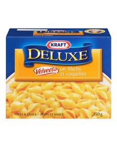 Kraft Dinner Deluxe Velveeta on Shells 350g