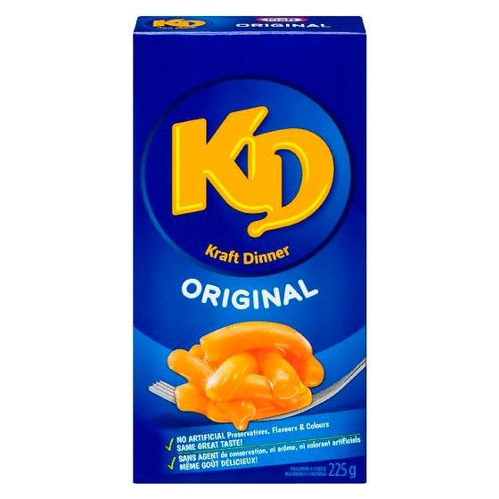Kraft Dinner Macaroni et Fromage Original 225G