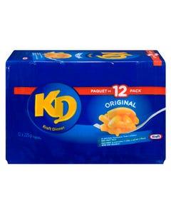 Kraft Dinner Original 12x225G