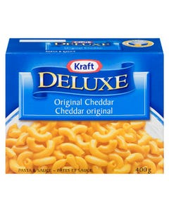 Kraft Dinner Deluxe Original Cheddar 400g