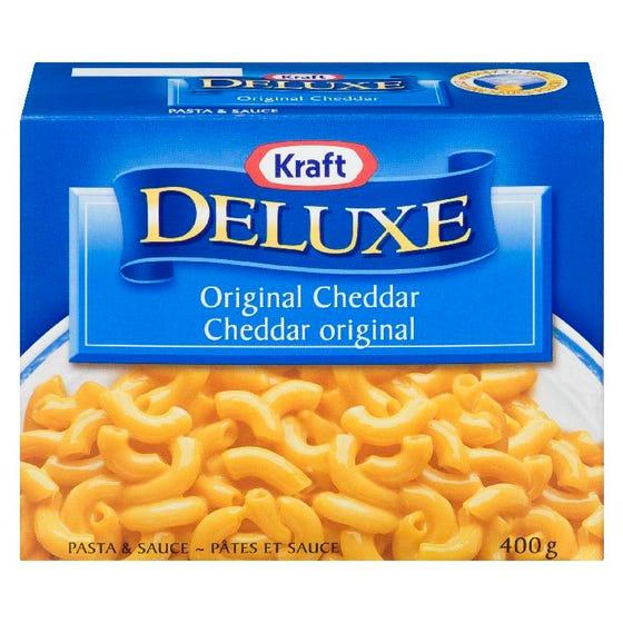 Kraft Deluxe Pâtes et Sauce Cheddar Original 400G