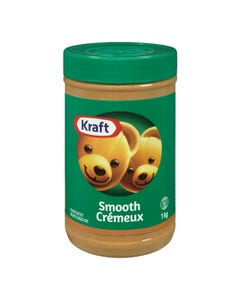 Kraft Peanut Butter Smooth 1kg