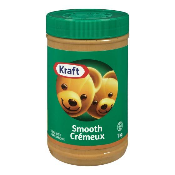 Kraft Beurre d'Arachide Crémeux 1KG