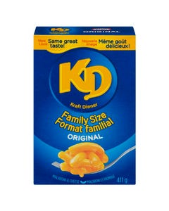 Kraft Dinner Original Family Size 411g