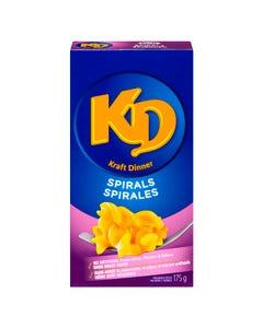 Kraft Dinner Spirals 175G