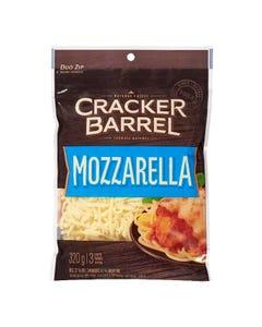 Cracker Barrel Shredded Cheese Mozzarella 320g