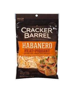 Cracker Barrel Shredded Cheese Habanero Heat 320g