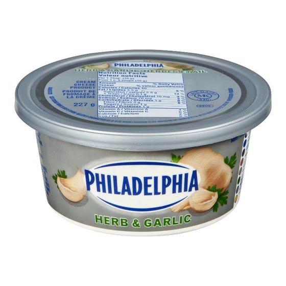 Philadelphia Cream Cheese Herb & Garlic 227G