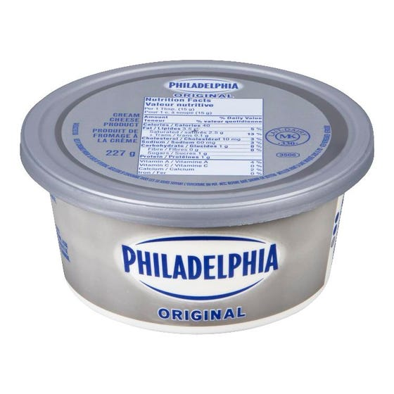 Philadelphia Cream Cheese Original 227G