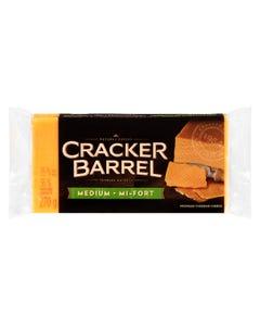 Cracker Barrel Cheese Medium Cheddar 270G