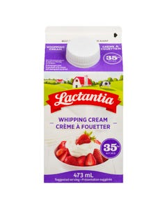 Lactantia Whipping Cream 35% 473ML
