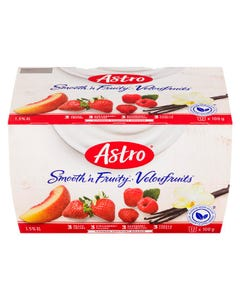 Astro Smooth 'n Fruity Yogurt Variety 12x100g