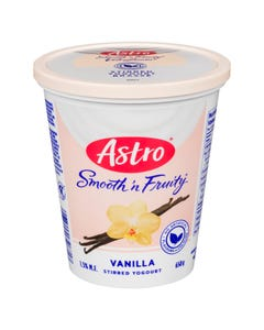 Astro Smooth 'n Fruity Yogurt Vanilla 650G