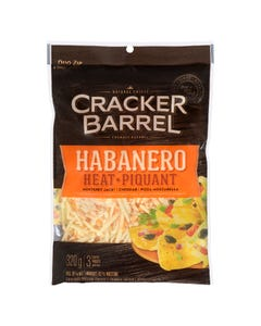 Cracker Barrel Habanero Heat Shredded Cheese 320G
