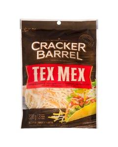 Cracker Barrel Cheese Shredded Tex Mex 320G