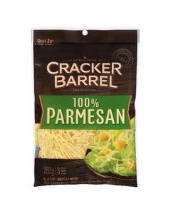 Cracker Barrel 100% Parmesan Shredded Cheese 250G