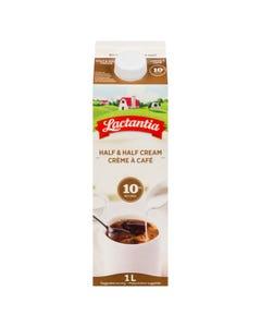 Lactantia Half & Half Cream 10% 1L