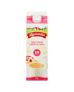 Lactantia Table Cream 18% 1l