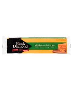 Black Diamond Medium Cheddar Cheese 400G