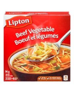 Lipton Soup Mix Beef Vegetable 2ct 94g