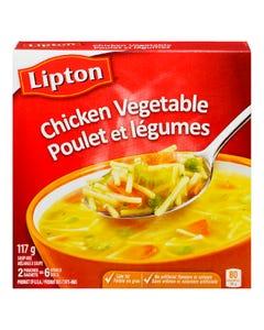 Lipton Soup Noodle Farmhouse Chicken Vegetable 2CT 117G