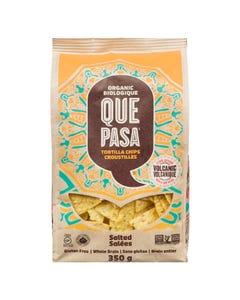 Que Pasa Organic Tortilla Chips Salted 350G