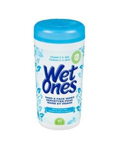 Wet Ones Vitamin E & Aloe Wipes 40CT