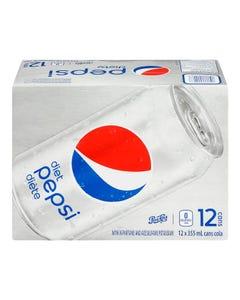 Pepsi Diet 12x355ml
