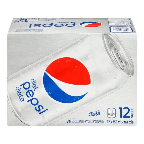 Pepsi Diete 12x355ML