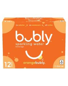 Bubly Orange 12X355ML
