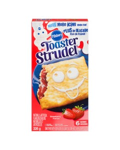 Pillsbury Toaster Strudel Strawberry 326G