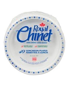 "Royal Chinet Extra Strong Plates 8.75"" 40CT"