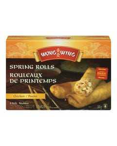 Wong Wing Spring Rolls Chicken 545G