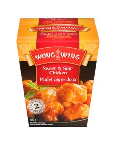 Wong Wing Sweet & Sour Chicken 400G