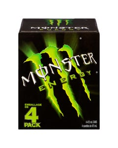 Monster Energy Drink Green 4X473ml