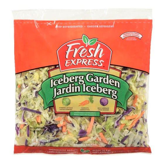 Fresh Express Iceberg Garden Salad 340G